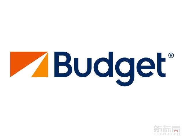 美国连锁租车公司百捷乐BUDGET标志logo