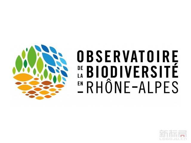 法国罗纳-阿尔卑斯生物观测站标志logo