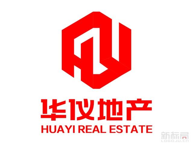 华仪地产标志logo设计