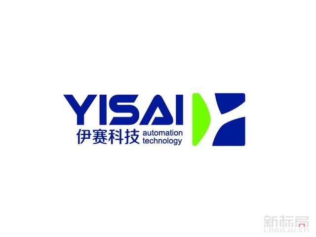 伊赛科技YISAI标志logo设计