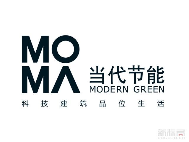 当代节能置业标志logo