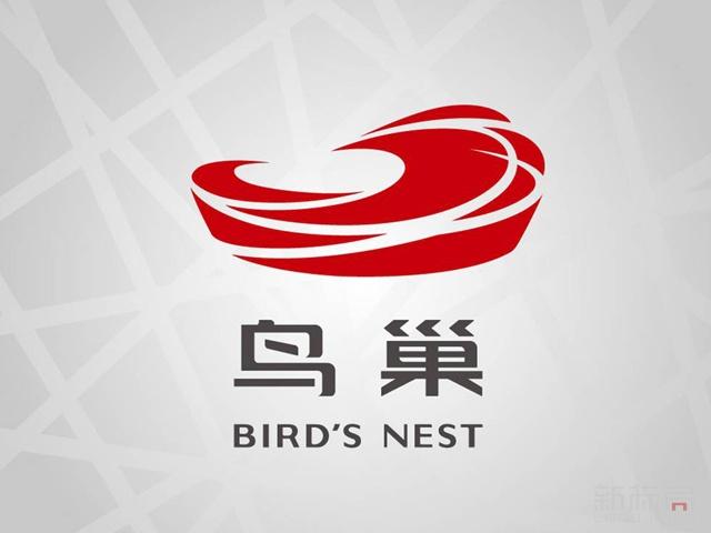 国家体育场鸟巢标志logo