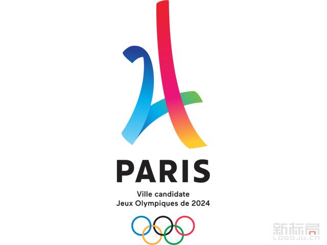 法国巴黎2024年申奥标识logo