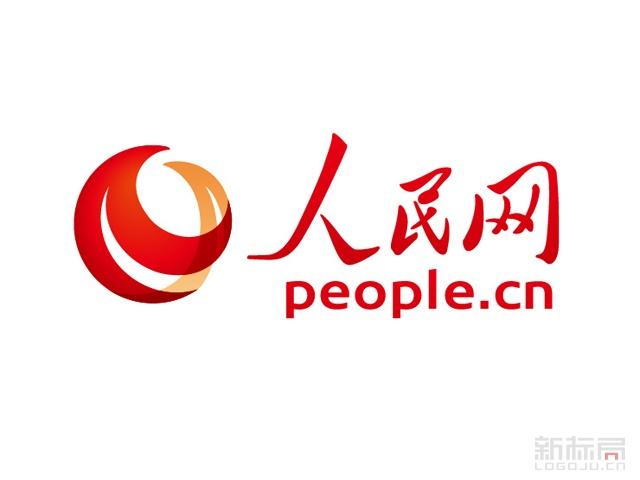 信息发布平台人民网标志logo