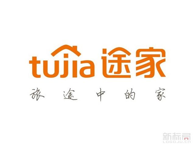 全球公寓民宿预订平台tuijia途家标志logo