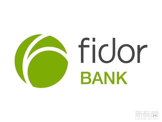 德国在线银行Fidor bank标志logo