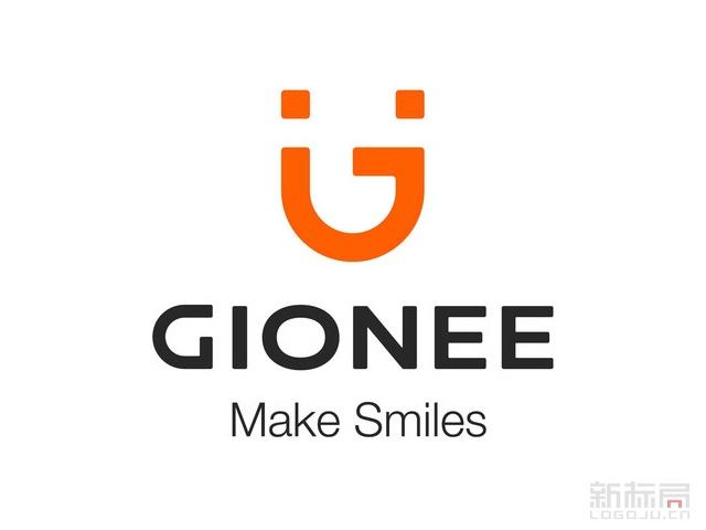 GIONEE金立智能手机品牌标志logo