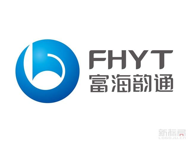 富海韵通科技标志logo