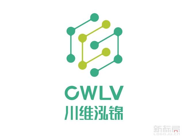 川维泓锦新材料标志logo