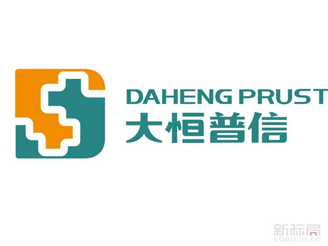 移动医疗-大恒普信标志logo