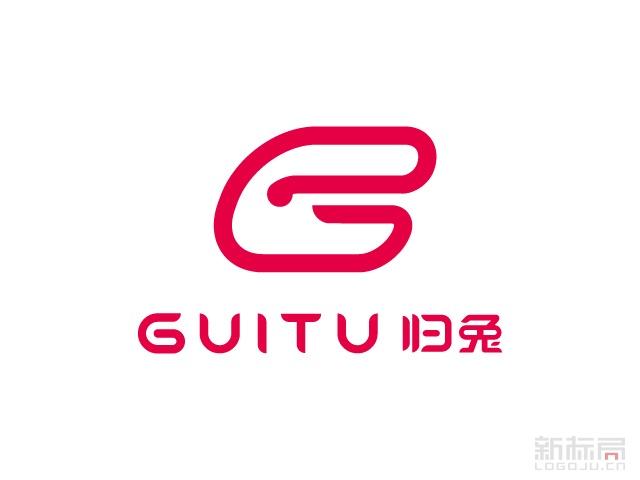 GUITU归兔标志logo