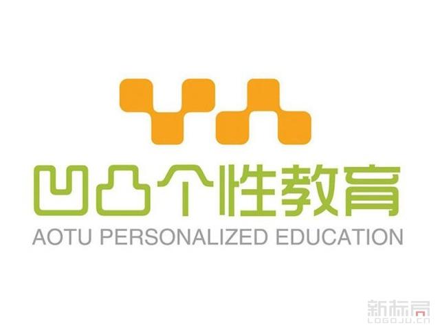 凹凸个性教育学习平台标志logo