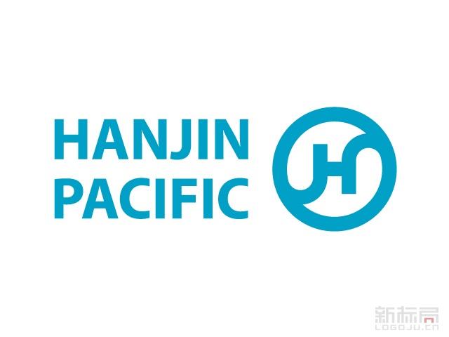 韩进海运物流集团标志logo