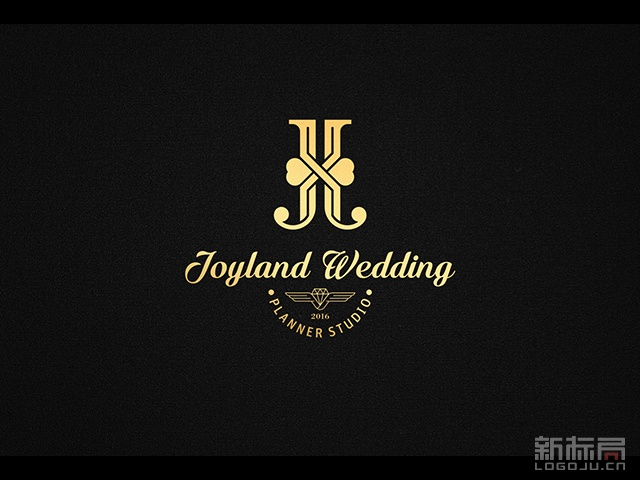 JOYLAND WEDDING眷恋婚礼私坊标志logo