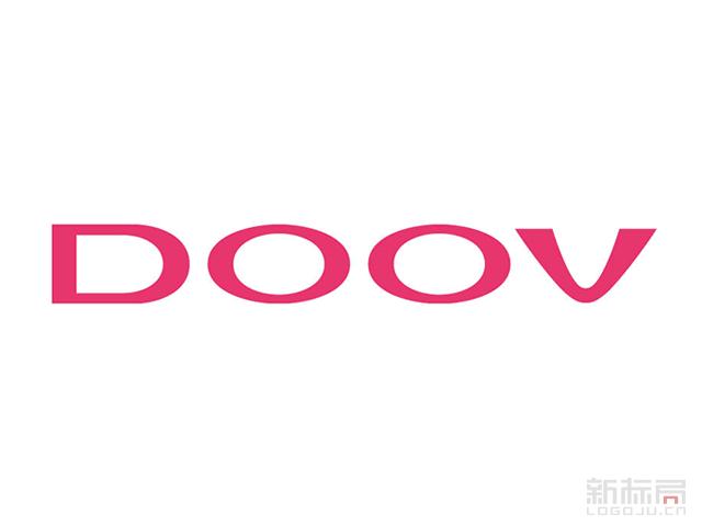 DOOV朵唯女性手机新标志logo