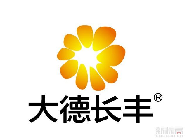 大德长丰农业标志logo