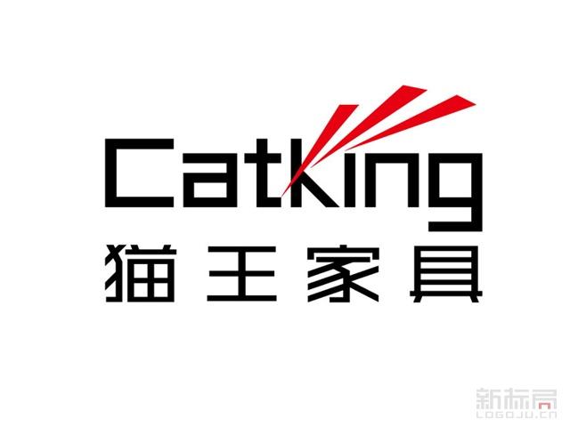 北京动态定制家具公司-猫王家具Catking标志logo