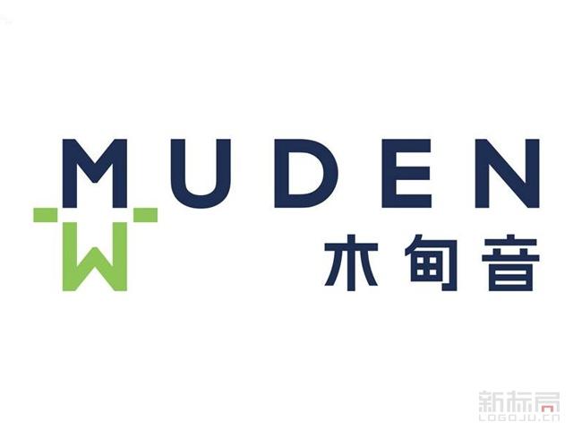 木甸音木材品牌标志logo