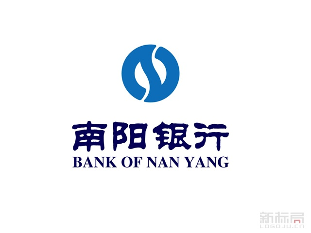 南阳市商业银行标志logo