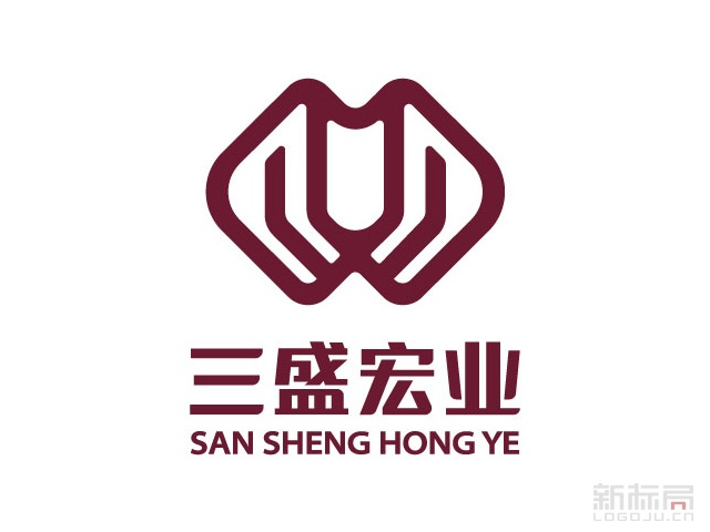三盛宏业集团标志logo