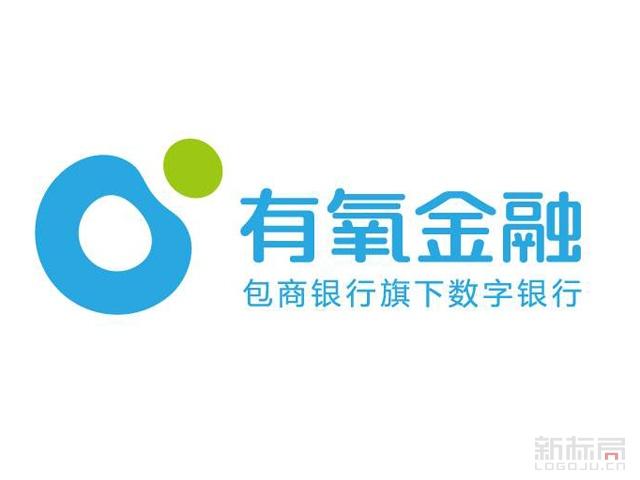 有氧金融包商银行旗下数字银行标志logo