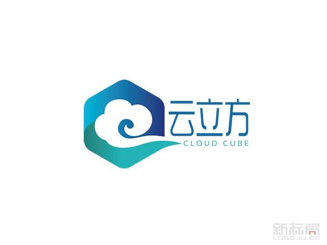 云立方一体化移动营销聚合平台标志logo
