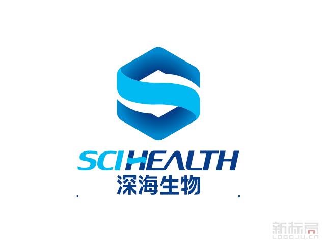 深海生物科技标志logo