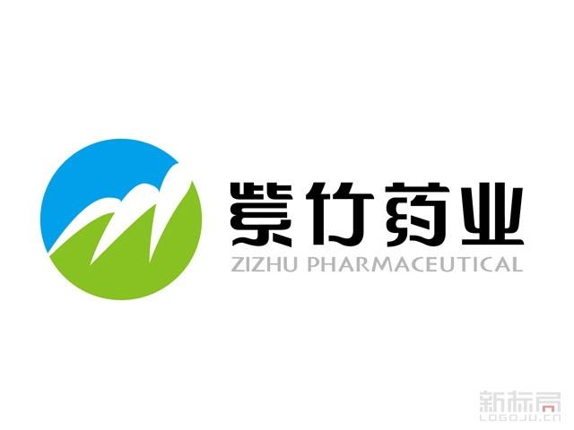 紫竹药业标志logo