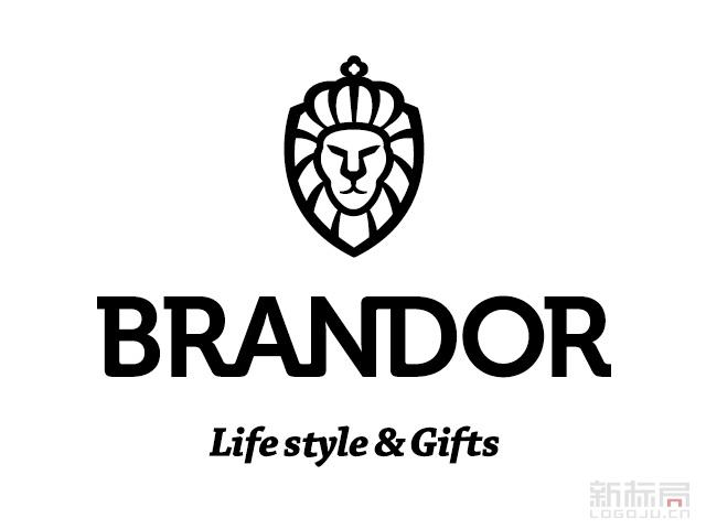 博朗狮日本艺术礼品品牌标志logo