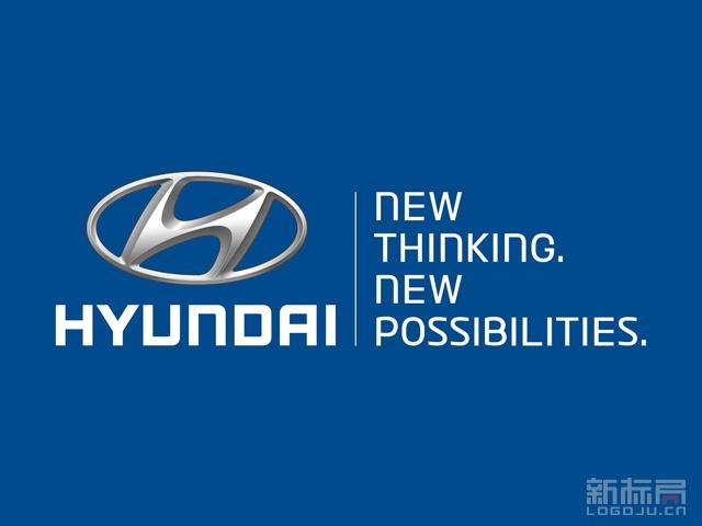 HYUNDAI现代汽车品牌标志logo