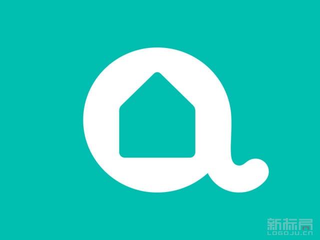 阿姨帮生活服务平台标志logo