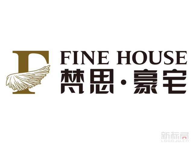 梵思豪宅家居标志logo