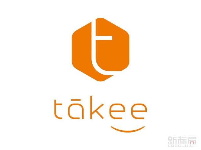 takee全息手机品牌标志logo
