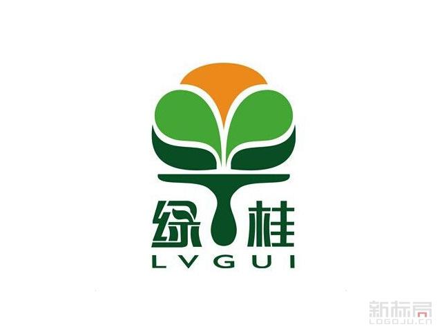 绿桂油漆品牌标志logo