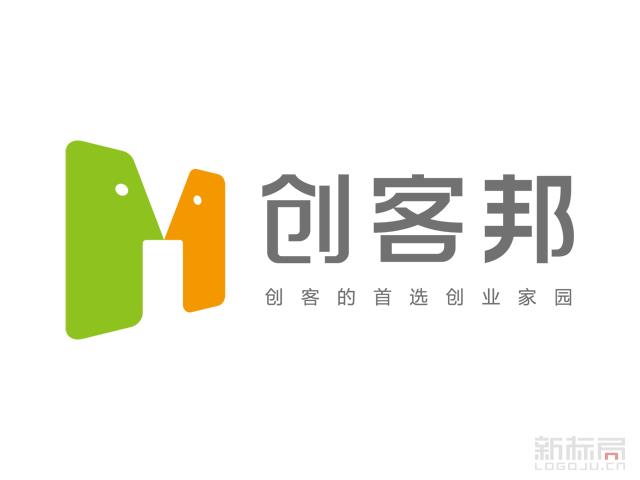 创客邦科技企业孵化器标志logo