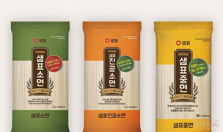 """韩国酱油品牌""""膳府""""新标志logo"""