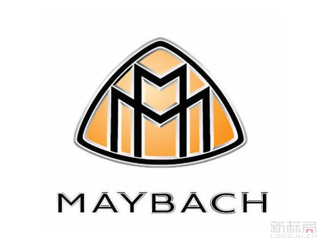 maybach迈巴赫豪华汽车品牌标志logo