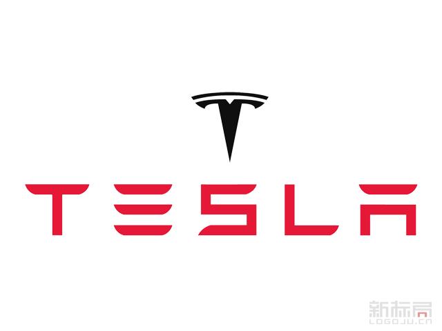 TESLA特斯拉电动汽车品牌标志logo