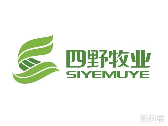 田野牧业标志logo