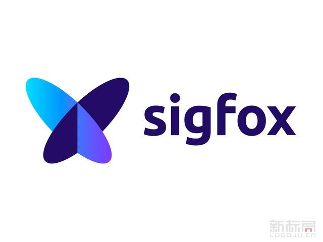 法国物联网技术服务商Sigfox新标志logo