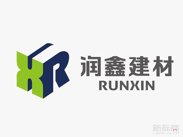 润鑫建材标志logo