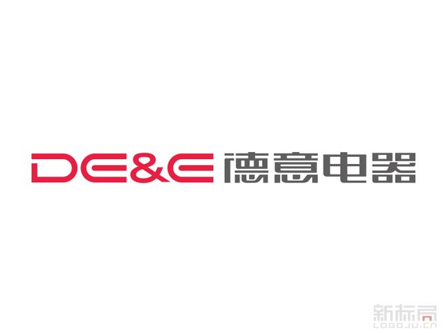 DE&E德意厨房电器标志logo