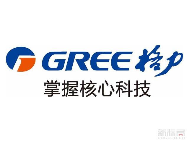 GREE格力空调电器品牌标志logo