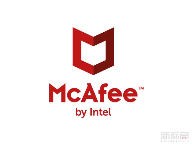 McAfee杀毒软件品牌新标志logo
