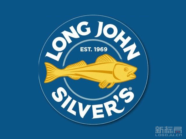 """海鲜快餐连锁店""""海滋客Long John Silver's""""标志logo"""