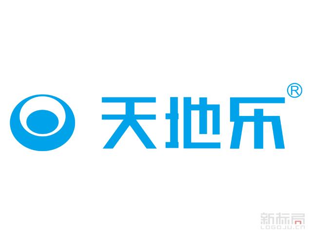 天地乐电器标志logo