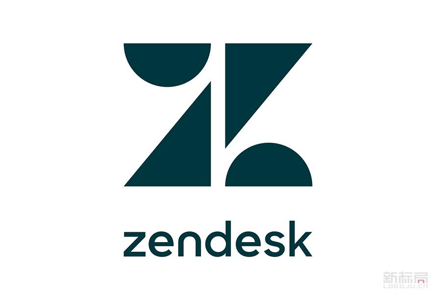 美国软件开发公司Zendesk新标志logo