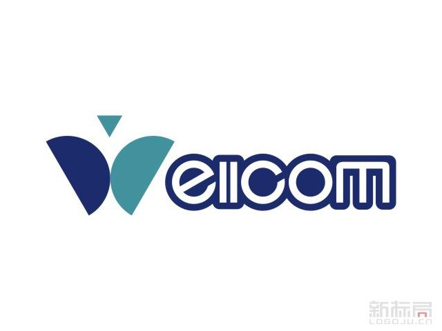 Wellcom维尔科技标志logo