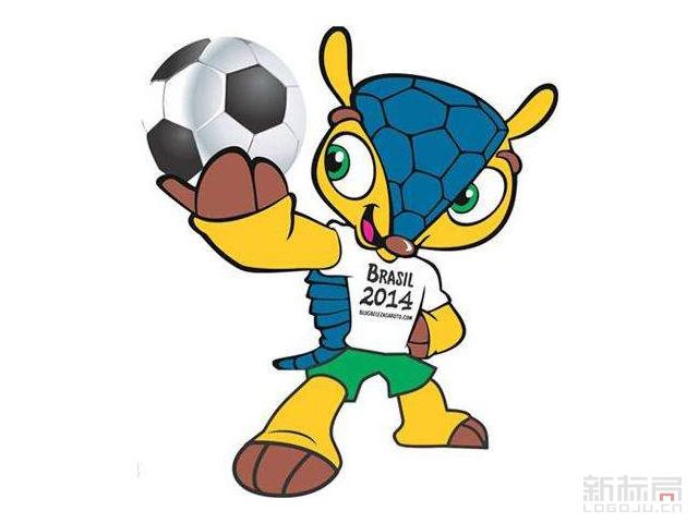 2014年巴西世界杯吉祥物犰狳