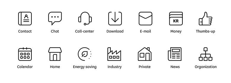 挪威石油和能源企业Enova标志logo